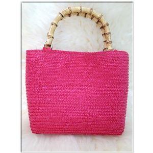 Handbags - 🌞Red Staw Beach Bag ⛱